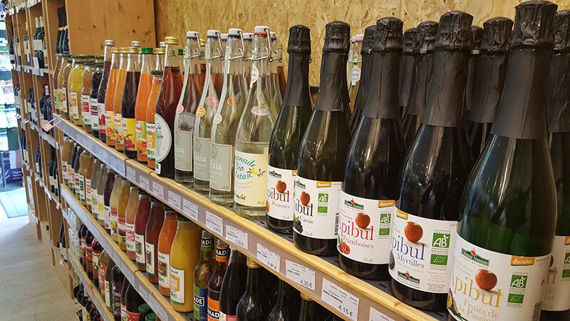 Breiz Nature - rayon des vins Bio