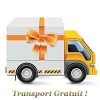 Transport OFFERT dès 80€ d'achats *