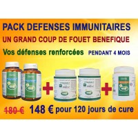 Pack Défenses immunitaires